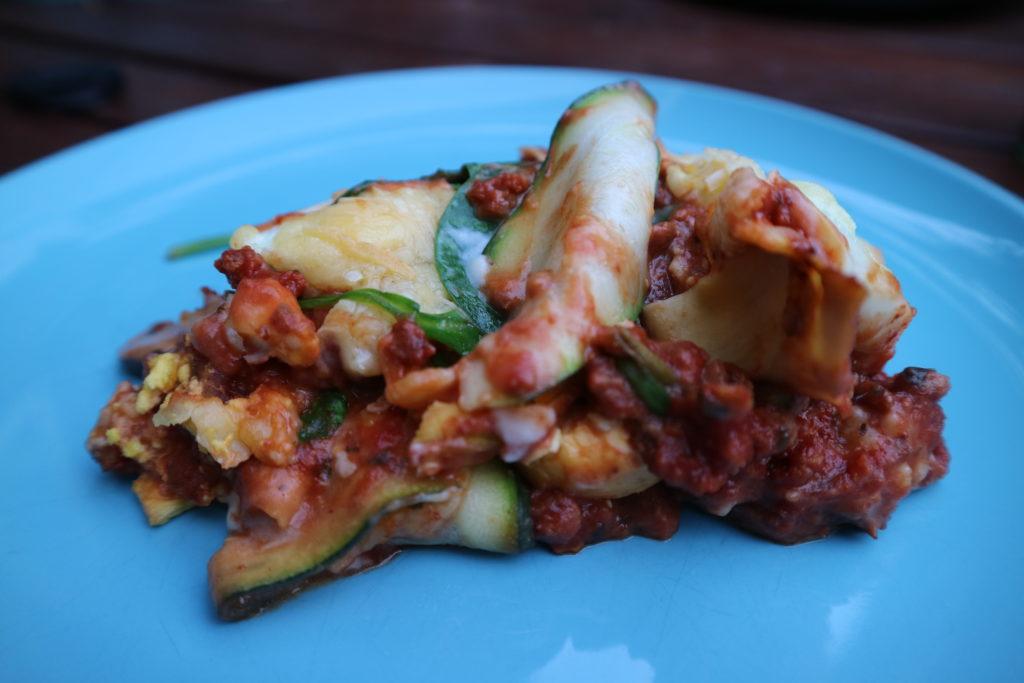 Lasagne met heel veel groenten