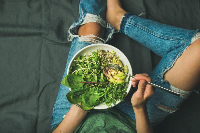 koolhydraatarm dieet met gezonde voeding