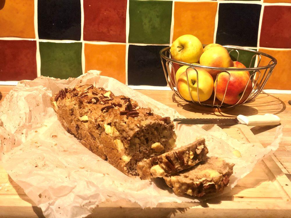 Appel – noten cake